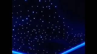 Натяжные потолоки Одесса.(Натяжной потолок в Одессе. Выполнена работа фотопечать космос, свето-волокно на 300 точек, по периметру паря..., 2017-01-20T14:37:19.000Z)