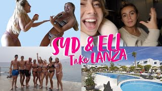 LANZAROTE VLOGS ARE BACK! DAY 1&2 | SYD AND ELL