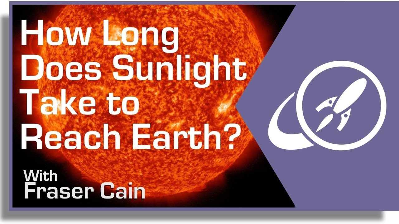 How Long Does it Take Sunlight to Reach the Earth? - Universe Today