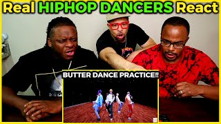 Real Hip Hop DANCERS REACT to BTS 'Butter' DANCE PRACTICE!!