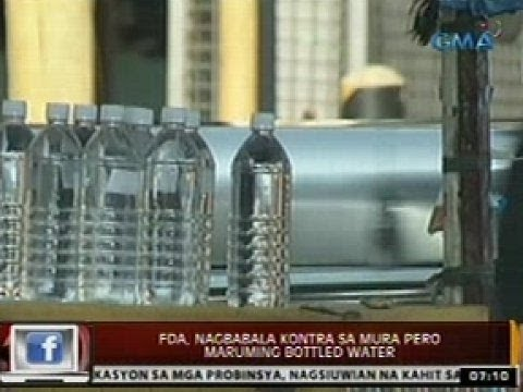 24 Oras: FDA, nagbabala kontra sa mura pero maruming bottled water