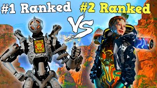 #1 Ranked Player 1v1s me in solo mode! (Apex Legends)