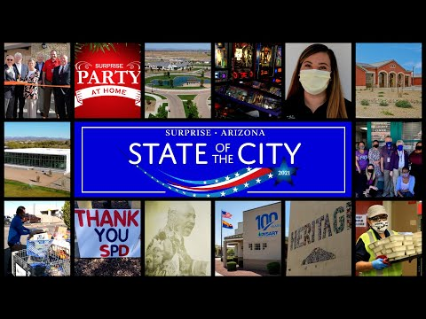2021 City of Surprise State of the City video thumbnail