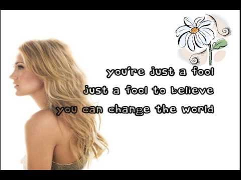 Carrie Underwood - Change (lyrics on screen)