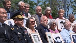 """MIAs from the """"Forgotten War"""" remembered in South Korea"""