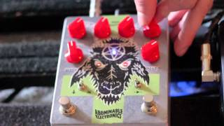 Abominable Hail Satan Deluxe Pedal Demo