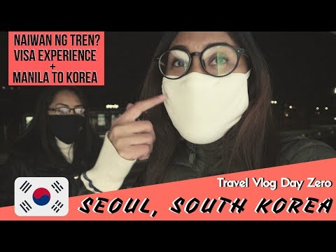 NAIWAN NG TREN?   Visa Experience   Seoul, South Korea Travel Vlog   Anatomy of the Awesome by Quez
