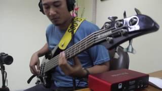 J-Rocks - Fallin In Love (Bass Cover by Hafizh Silkie)