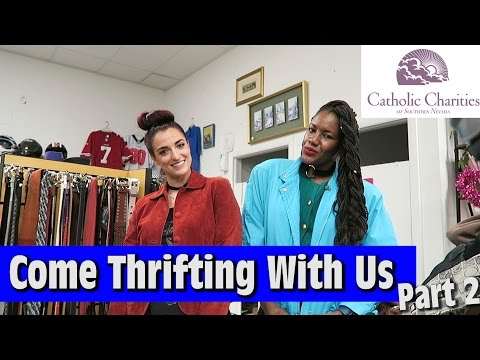 Running out of time +TRY ON Catholic Charities Part 2|Come Thrifting With Us|#ThriftersAnonymous