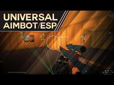 Universal Aimbot/Esp Showcase [BETA]