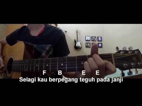 cara main gitar BPR - Seribu Tahun Takkan Mungkin (chord + lirik + cover)