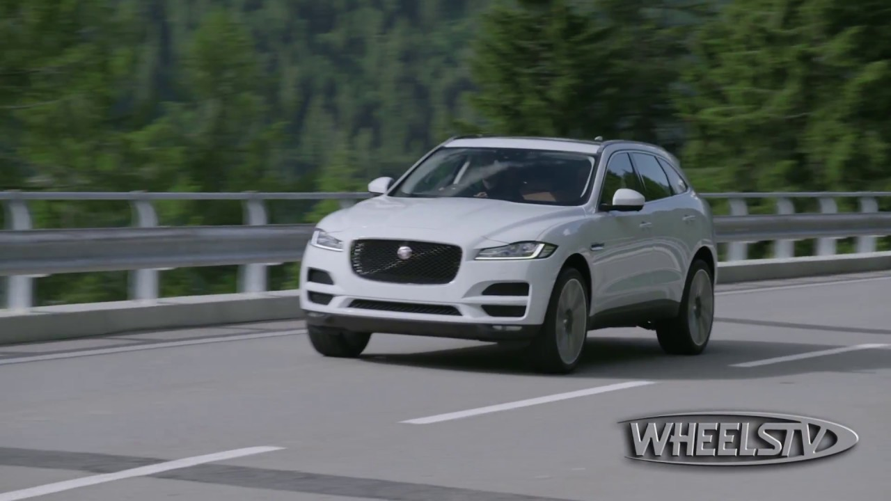 Nempa 2018 Best In Class Luxury Compact Suv Jaguar F Pace Youtube