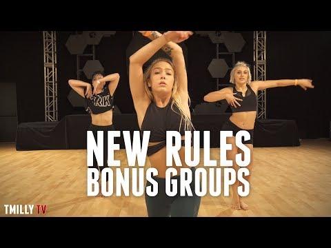 Dua Lipa - New Rules | Bonus Groups |  Brian Friedman Choreography | #TMillyTV