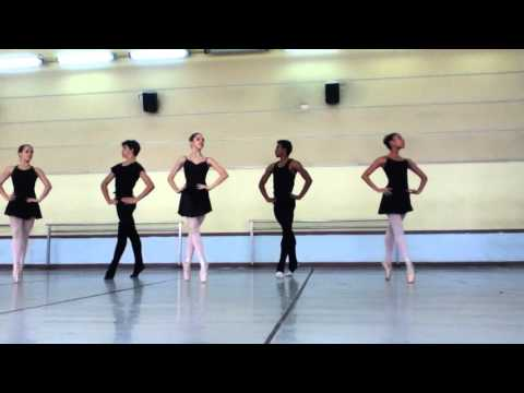 """Majísimo"" reahearsal 1/5. Cuban National Ballet School ""Fernando Alonso"""