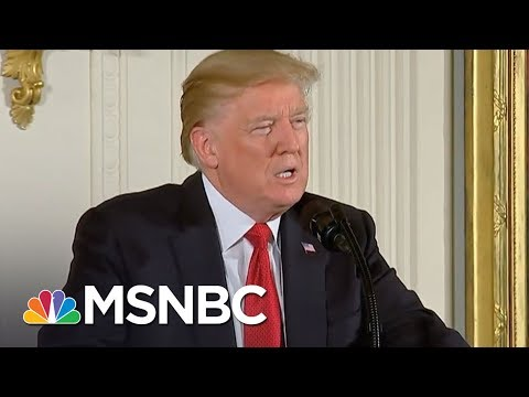 President Donald Trump Awards Medal Of Honor During Gold Star Feud | The 11th Hour | MSNBC