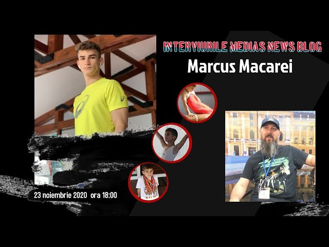 Marcus Macarei la Interviurile Medias News Blog