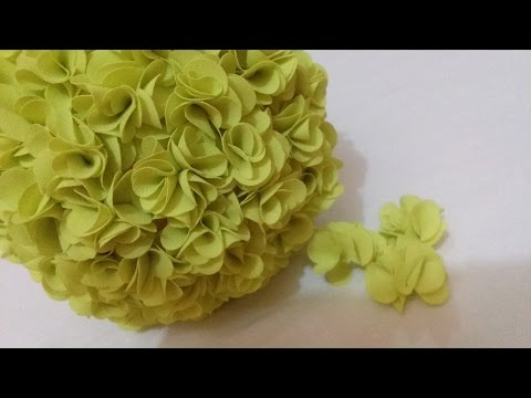 DIY Flower Ball – Tissue Flower for wedding decorations