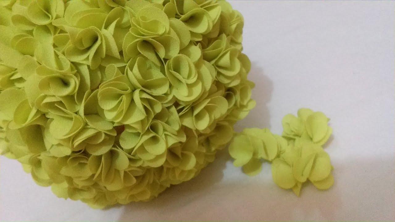 Diy Flower Ball Tissue Flower For Wedding Decorations Youtube