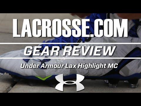 c600a8ecbf82 Under Armour Lax Highlight MC - Lacrosse.com Review - YouTube
