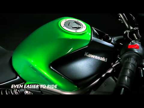 Kawasaki ER-6f Studio Video