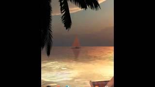 OCEAN BEACH 3D Live Wallpaper