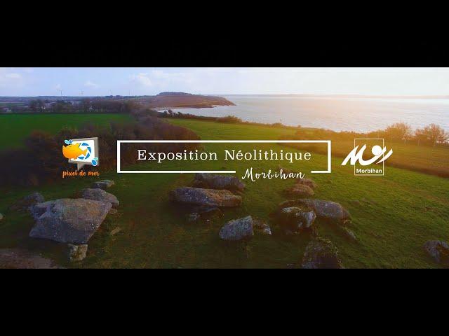 Pixel de Mer prestataire Expo Néolithique 2022 - Conseil Départemental du Morbihan #Vannes #Vidéo