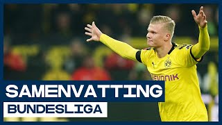 HIGHLIGHTS | Wonderkid Haaland schittert ook in Dortmund
