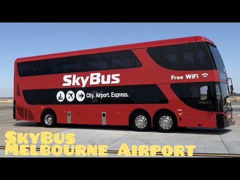 How To Get Melbourne Airport To The City #skybus