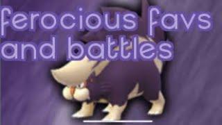 Ferocious Emerging Favorites and Strategies