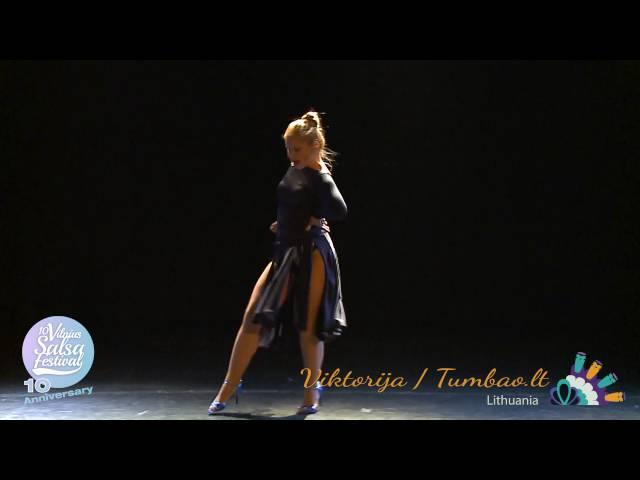 Viktorija Tumbao.lt  (Lithunaia) / 10th Int'l Vilnius Salsa Festival, May 2016