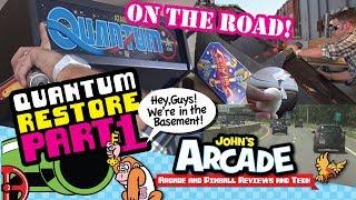 Atari Quantum Arcade Restore / Scratch Build Part #1 - Getting the cabinet -