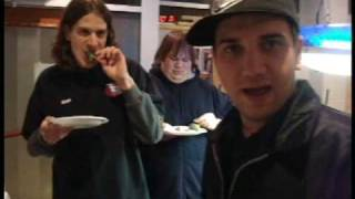 Monday 2-16-09 : Going Backstage with the Bloodhound Gang ( Around the town Vlog )