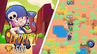 LEVEL 1 PENNY TO 500 TROPHIES! / OP Duo SD Comp / Brawl Stars