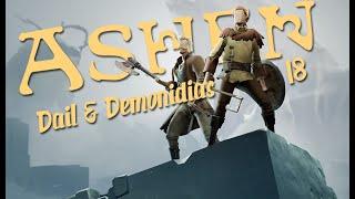 Zagrajmy w ASHEN - Nowy Soulslike? CO-OP /w Demonidias (18) - POTĘŻNY STREAMER TILTUJE!