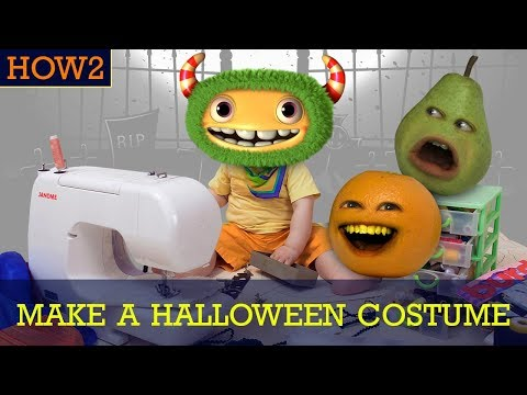 HOW2: How to Make a Halloween Costume