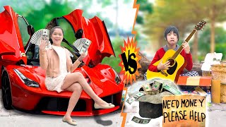 TÁO QUÂN THỬ LÒNG SINH VIÊN GIÀU VS NGHÈO ❤ Hài Tết 2021 - Trang Vlog