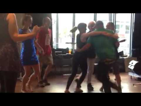 Jean Noel Bassene does a Square Dance