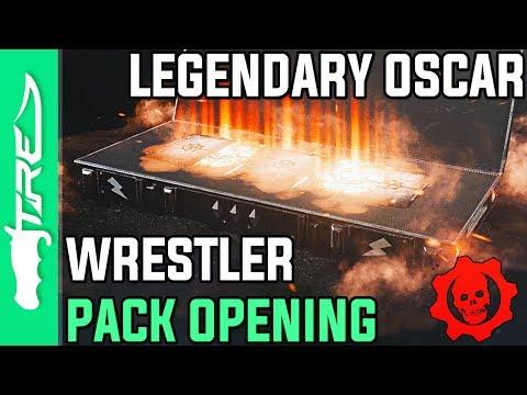 LEGENDARY OSCAR CHARACTER! - Gears of War 4 Gear Packs Opening - 30 WRESTLER OSCAR GEAR PACKS!