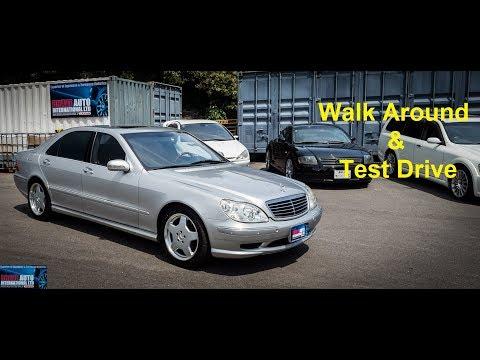 2000 Mercedes Benz S55L AMG | Japan Car Auction Purchase