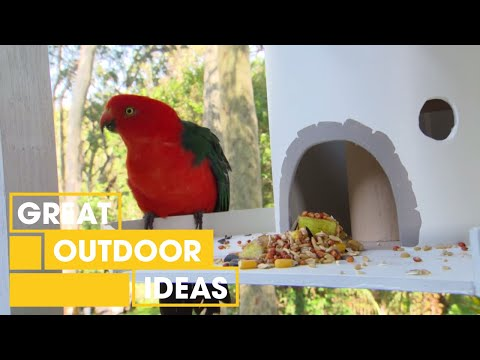How To Make Your Own DIY Bird Feeder | Outdoor | Great Home Ideas