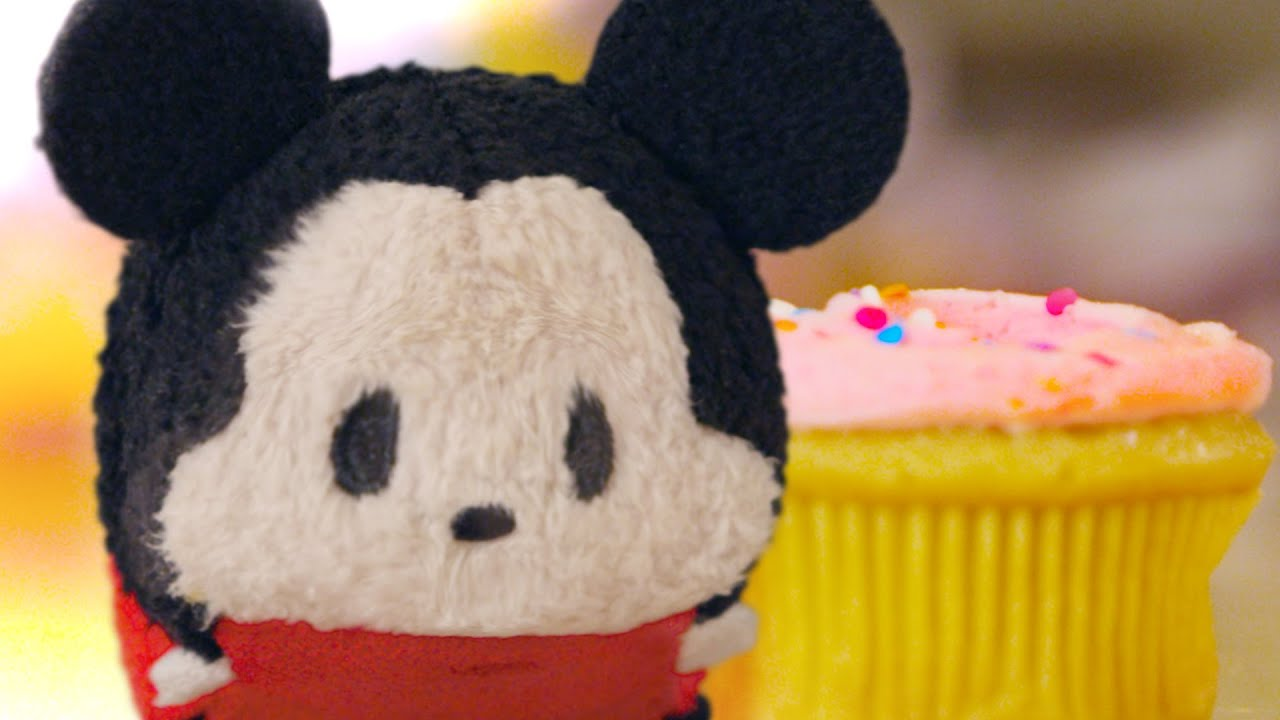 Mickey Mouse Plush Starts Cupcake Battle Tsum Tsum Kingdom Episode