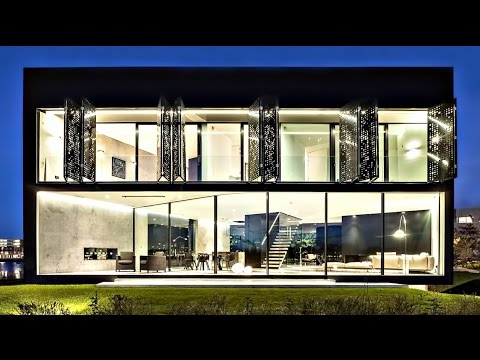 Exclusive Transparency Luxury Residence in Amsterdam, Netherlands