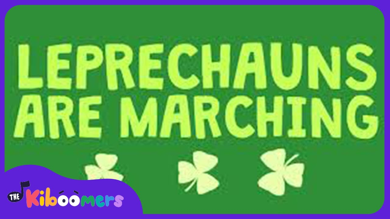 Leprechauns Are Marching | Kids Song | The Kiboomers | St Patrick\'s ...