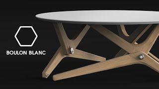 デザインの妙!SNSで話題の「高さが変わるテーブル」