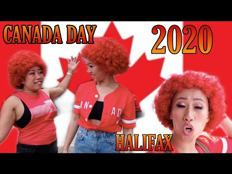 HAPPY CANADA DAY 2020 || FIRST CANADA DAY AS CANADIAN CITIZEN || HALIFAX-NOVA SCOTIA ||