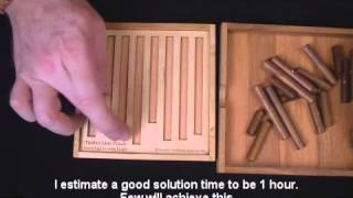Timber Line Puzzle - Wood Brain Teaser