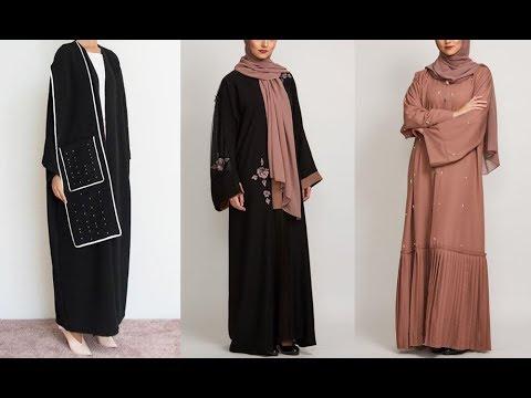 Latest abaya designs 2018 abaya collection | Saudi girls abaya | Abaya  dubai | modest fashion