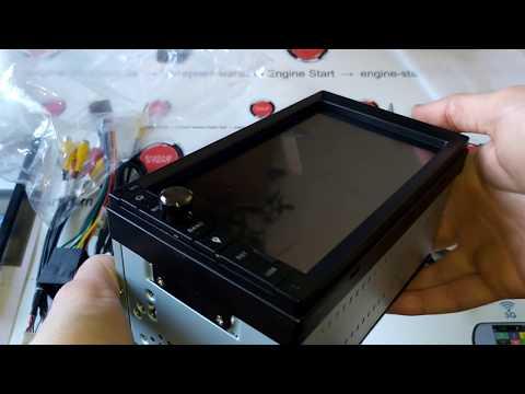 Phantom DVA-7600: обзор #2, распаковка, комплектация, внешний вид, выходы и входы Андроид-магнитолы