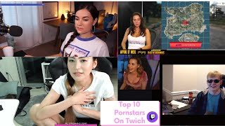 Top 10 Pornstars You Must Follow On Twitch