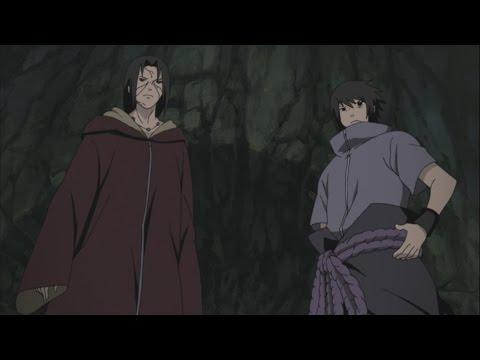 SASUKE AND ITACHI VS KABUTO ENGLISH DUBBED
